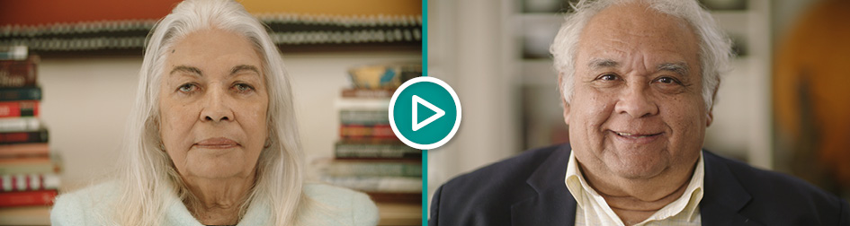 Click to watch Senior Advisory Group co-chairs Professor Dr Marcia Langton AO and Professor Tom Calma AO talk about the Indigenous voice co-design process